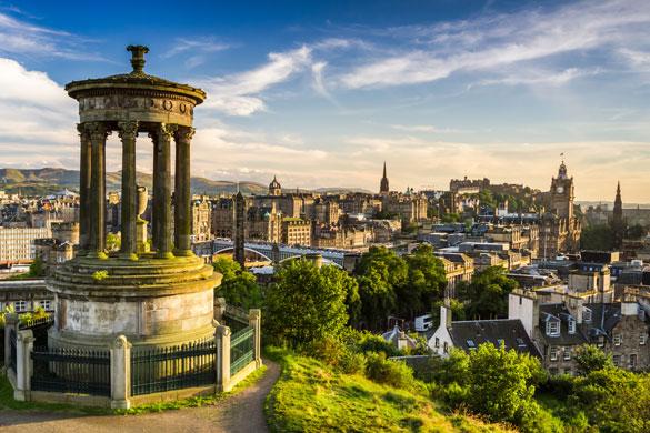 Stedentrip Edinburgh met tieners