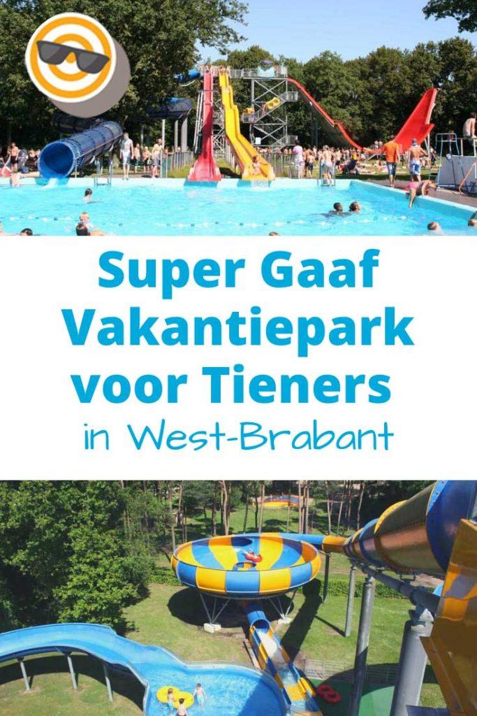 Super gaaf vakantiepark voor tieners in West-Brabant, Nederland