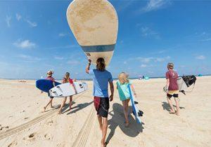 Gezellig surf camp in Frankrijk