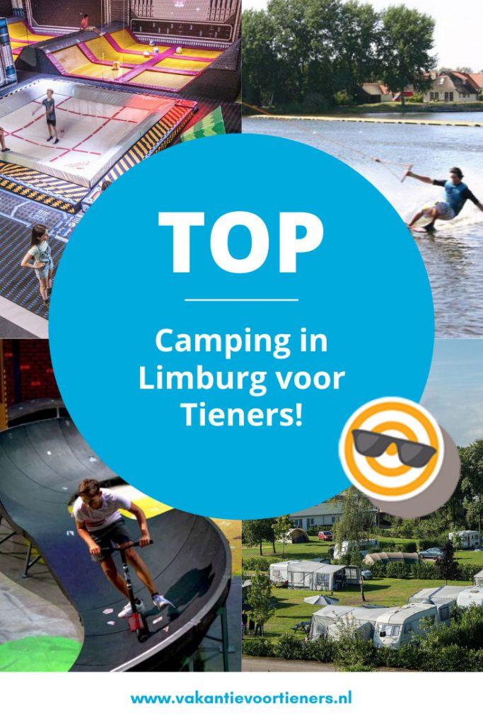 Top camping voor tieners in Limburg
