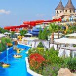 Groot waterparadijs bij leuke hotel in Nessebar