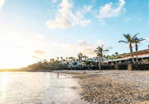 Heerlijke vakantie aan het strand op Lanzarote