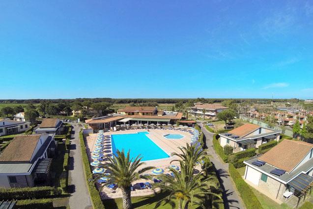 Vakantiepark Toscane met tieners