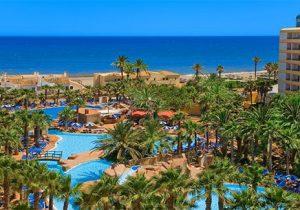 Schitterend hotel aan de kust van Spanje