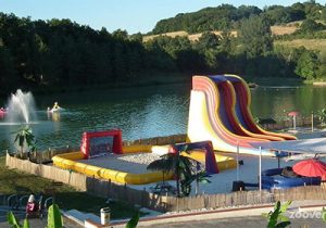Super camping in Frankrijk aan een leuk meer