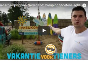 Video over Stoetenslagh, tienercamping
