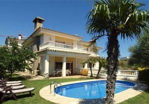 Mooie villa in Lloret met privé zwembad
