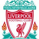 Voetbalwedstrijd in Liverpool