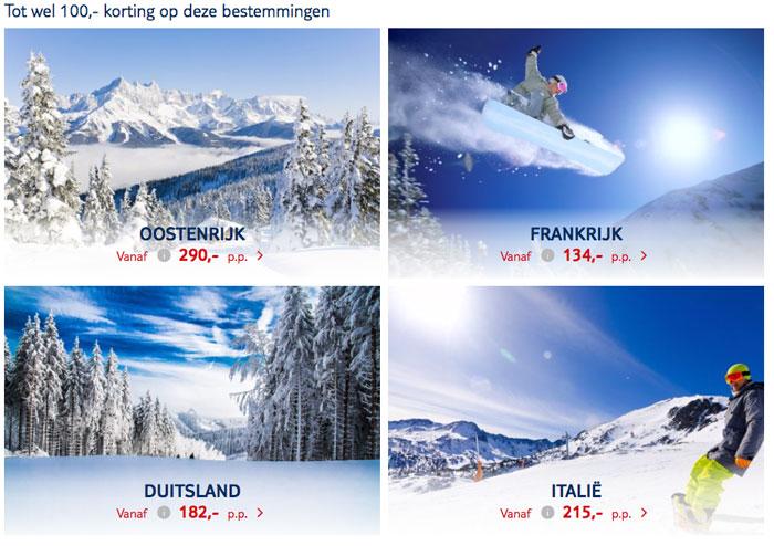 Wintersporten met TUI