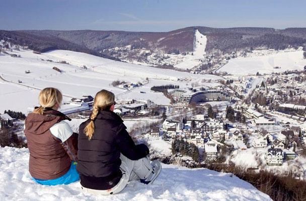 Wintersport Duitsland met subtropisch zwembad