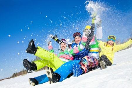 Wintersporten met pubers in Duitsland