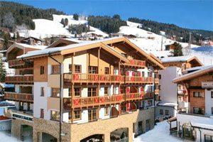 Leuke skivakantie in het centrum van Saalbach